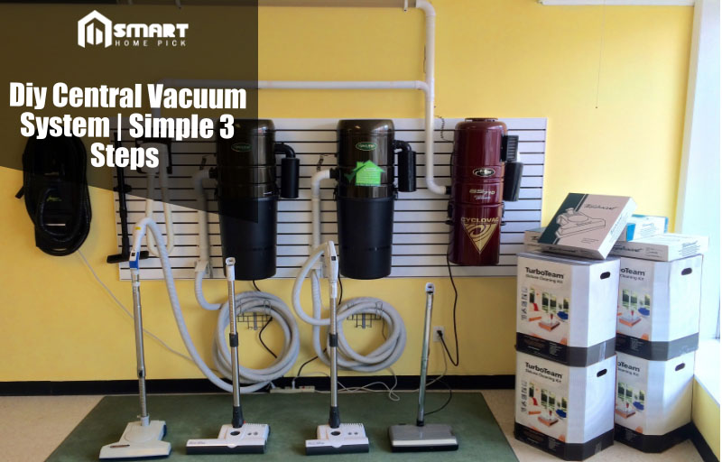 diy central vacuum