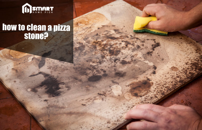 how to clean a pizza stone