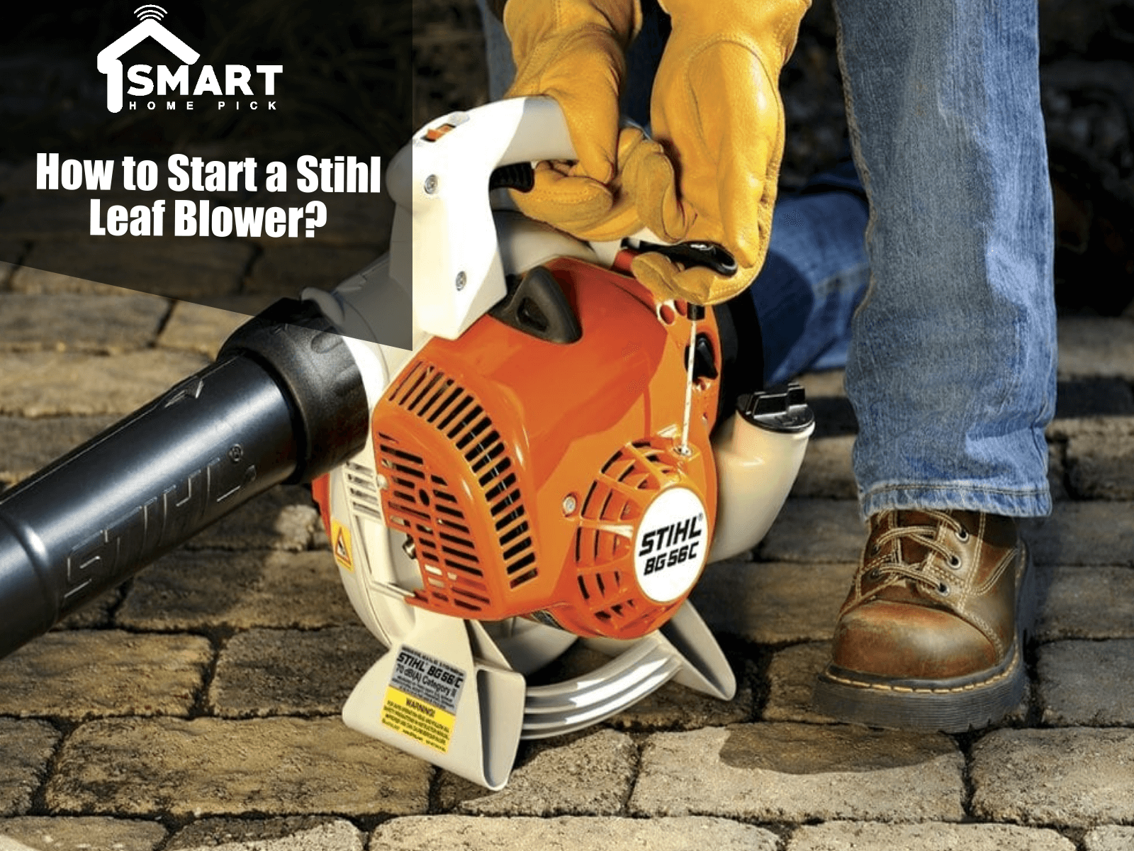 How to Start a Stihl Leaf Blower