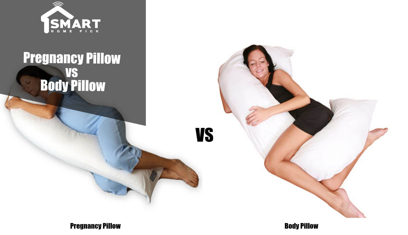 Pregnancy Pillow vs Body Pillow