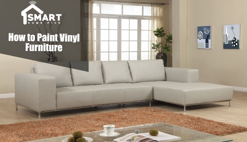 how to paint vinyl furniture