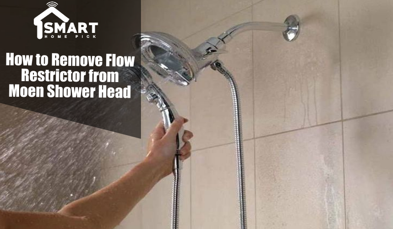 How To Remove Flow Restrictor From Moen Shower Head Smart Home Pick