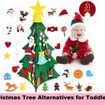 Christmas Tree Alternatives for Toddlers