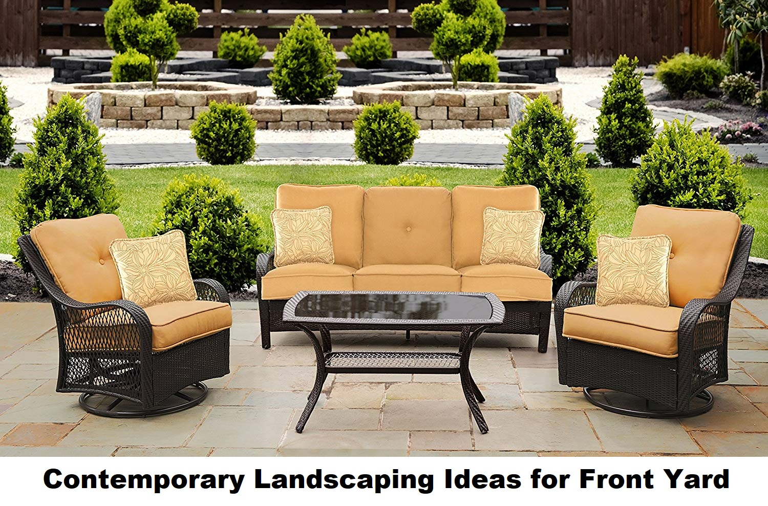 4 Contemporary Landscaping Ideas For Front Yard Smart Home Pick