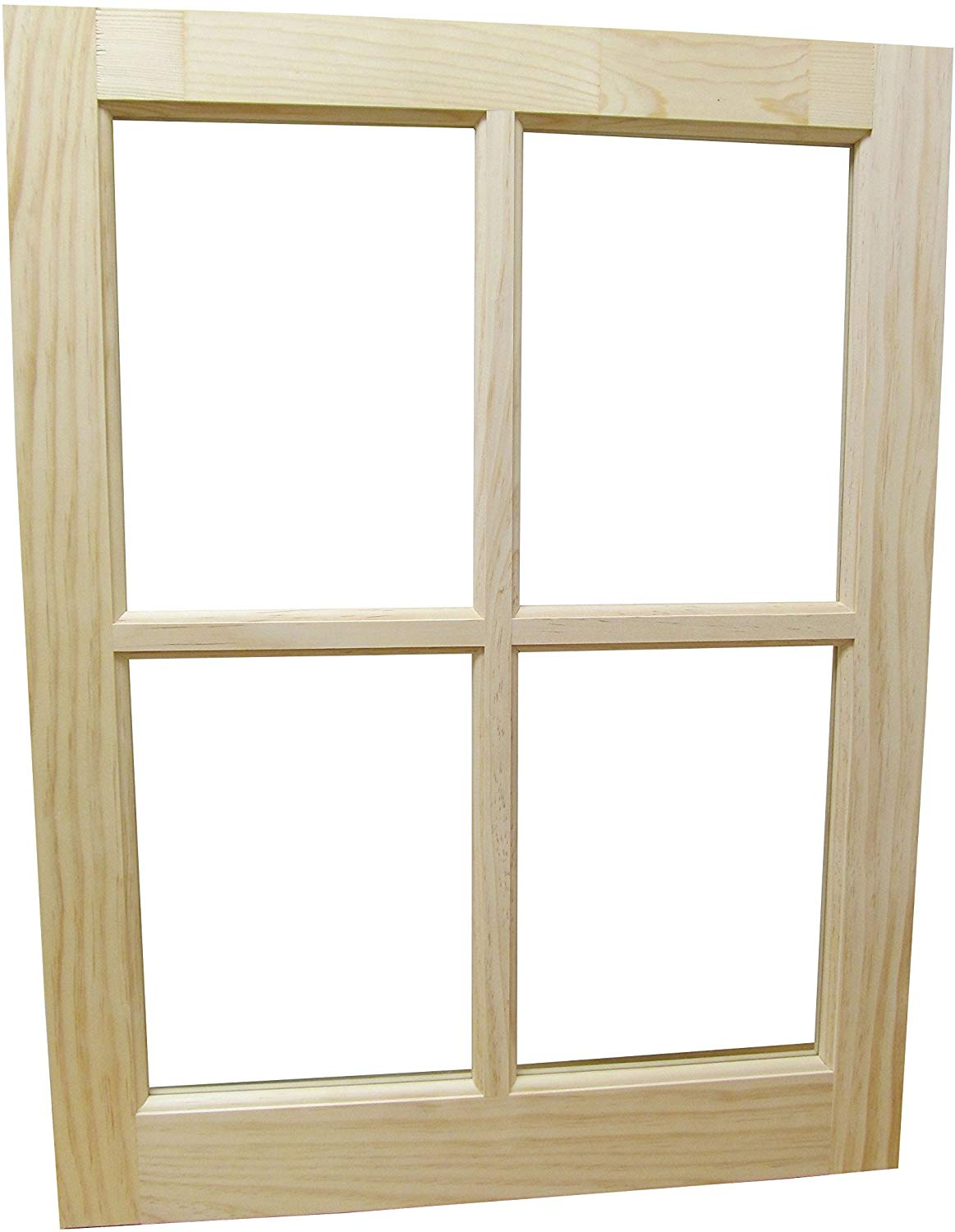"Wooded Barn Sash Window Traditional Style 22"" x 29"""